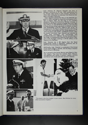 Page 9, 1986 Edition, University of Washington Naval ROTC - Binnacle Yearbook (Seattle, WA) online yearbook collection