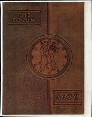Mount Vernon High School - Forum Yearbook (Mount Vernon, OH) online yearbook collection, 1940 Edition, Page 1