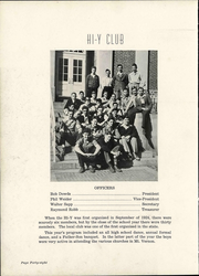 Page 54, 1943 Edition, Mount Vernon High School - Forum Yearbook (Mount Vernon, OH) online yearbook collection