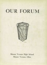 Page 5, 1950 Edition, Mount Vernon High School - Forum Yearbook (Mount Vernon, OH) online yearbook collection