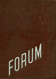 1953 Edition, Mount Vernon High School - Forum Yearbook (Mount Vernon, OH)