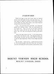 Page 6, 1961 Edition, Mount Vernon High School - Forum Yearbook (Mount Vernon, OH) online yearbook collection