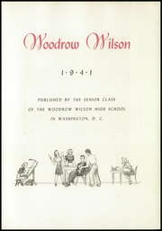 Page 11, 1941 Edition, Woodrow Wilson High School - Yearbook (Washington, DC) online yearbook collection
