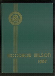 1957 Edition, Woodrow Wilson High School - Yearbook (Washington, DC)