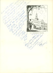 Page 9, 1957 Edition, Woodrow Wilson High School - Yearbook (Washington, DC) online yearbook collection