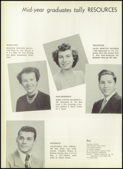 Page 12, 1952 Edition, Eastern High School - Punch and Judy Yearbook (Washington, DC) online yearbook collection