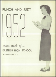 Page 5, 1952 Edition, Eastern High School - Punch and Judy Yearbook (Washington, DC) online yearbook collection