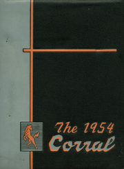 1954 Edition, Coolidge High School - Corral Yearbook (Washington, DC)