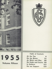 Page 7, 1955 Edition, Coolidge High School - Corral Yearbook (Washington, DC) online yearbook collection