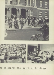 Page 9, 1956 Edition, Coolidge High School - Corral Yearbook (Washington, DC) online yearbook collection