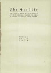 Page 5, 1924 Edition, McKinley Technical High School - Techite Yearbook (Washington, DC) online yearbook collection