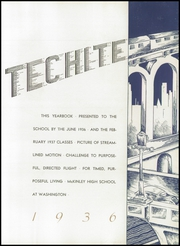 Page 7, 1936 Edition, McKinley Technical High School - Techite Yearbook (Washington, DC) online yearbook collection
