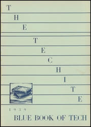 Page 5, 1939 Edition, McKinley Technical High School - Techite Yearbook (Washington, DC) online yearbook collection