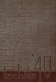 1940 Edition, McKinley Technical High School - Techite Yearbook (Washington, DC)