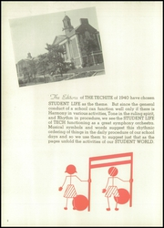 Page 6, 1940 Edition, McKinley Technical High School - Techite Yearbook (Washington, DC) online yearbook collection