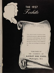 Page 5, 1957 Edition, McKinley Technical High School - Techite Yearbook (Washington, DC) online yearbook collection