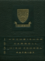 1956 Edition, Archbishop Carroll High School - Patriot Yearbook (Washington, DC)