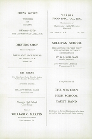 Page 160, 1946 Edition, Western High School - Westerner Yearbook (Washington, DC) online yearbook collection