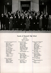 Page 13, 1936 Edition, Roosevelt High School - Rough Rider Yearbook (Washington, DC) online yearbook collection