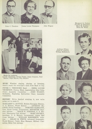 Page 11, 1952 Edition, Roosevelt High School - Rough Rider Yearbook (Washington, DC) online yearbook collection