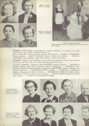 Page 12, 1952 Edition, Roosevelt High School - Rough Rider Yearbook (Washington, DC) online yearbook collection