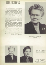 Page 8, 1952 Edition, Roosevelt High School - Rough Rider Yearbook (Washington, DC) online yearbook collection