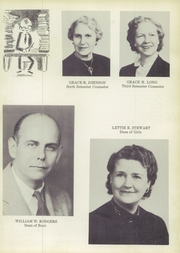 Page 9, 1952 Edition, Roosevelt High School - Rough Rider Yearbook (Washington, DC) online yearbook collection