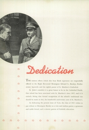 Page 8, 1941 Edition, St Johns College High School - Taps Yearbook (Washington, DC) online yearbook collection