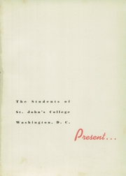Page 5, 1944 Edition, St Johns College High School - Taps Yearbook (Washington, DC) online yearbook collection
