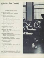 Page 11, 1955 Edition, Notre Dame Academy - Tryst Yearbook (Washington, DC) online yearbook collection