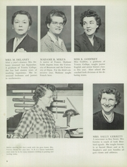 Page 12, 1955 Edition, Notre Dame Academy - Tryst Yearbook (Washington, DC) online yearbook collection