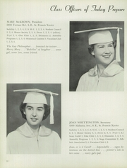 Page 16, 1955 Edition, Notre Dame Academy - Tryst Yearbook (Washington, DC) online yearbook collection