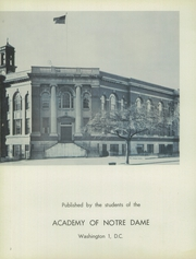 Page 6, 1955 Edition, Notre Dame Academy - Tryst Yearbook (Washington, DC) online yearbook collection