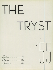 Page 7, 1955 Edition, Notre Dame Academy - Tryst Yearbook (Washington, DC) online yearbook collection