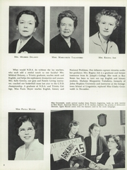 Page 12, 1957 Edition, Notre Dame Academy - Tryst Yearbook (Washington, DC) online yearbook collection