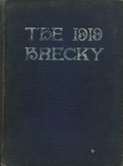 Central High School - Brecky Yearbook (Washington, DC) online yearbook collection, 1919 Edition, Page 1