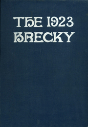 Central High School - Brecky Yearbook (Washington, DC) online yearbook collection, 1923 Edition, Page 1