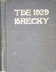 Central High School - Brecky Yearbook (Washington, DC) online yearbook collection, 1929 Edition, Page 1