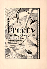 Page 5, 1929 Edition, Central High School - Brecky Yearbook (Washington, DC) online yearbook collection
