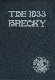 Central High School - Brecky Yearbook (Washington, DC) online yearbook collection, 1933 Edition, Page 1