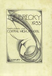 Page 5, 1933 Edition, Central High School - Brecky Yearbook (Washington, DC) online yearbook collection