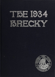 Central High School - Brecky Yearbook (Washington, DC) online yearbook collection, 1934 Edition, Page 1