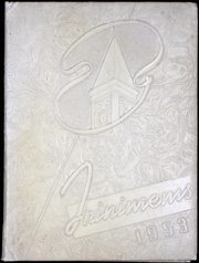 1953 Edition, Holy Trinity High School - Trinimems Yearbook (Washington, DC)