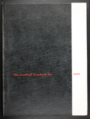 Catholic University of America - Cardinal Yearbook (Washington, DC) online yearbook collection, 1960 Edition, Page 1
