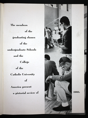 Page 3, 1960 Edition, Catholic University of America - Cardinal Yearbook (Washington, DC) online yearbook collection