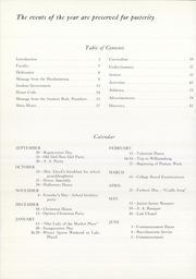 Page 6, 1961 Edition, Mount Vernon Seminary - Cupola Yearbook (Washington, DC) online yearbook collection