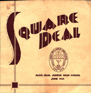 1935 Edition, Alice Deal Middle School - Square Deal Yearbook (Washington, DC)