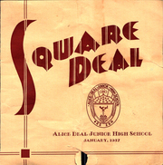 1937 Edition, Alice Deal Middle School - Square Deal Yearbook (Washington, DC)