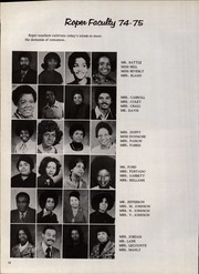 Page 16, 1975 Edition, Roper Middle School - Galaxy Yearbook (Washington, DC) online yearbook collection