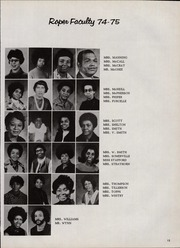 Page 17, 1975 Edition, Roper Middle School - Galaxy Yearbook (Washington, DC) online yearbook collection